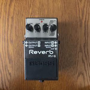 Boss Rv-6 Reverb Pedal for Sale in Bristow, VA