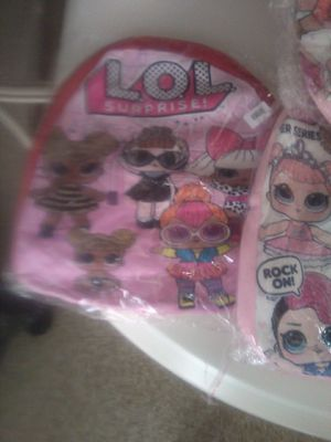 L.o.l. surprise backpacks. Brand new 5$ each for Sale in Fresno, CA