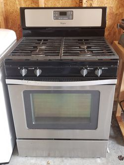 GAS Dryer and Stove Thumbnail