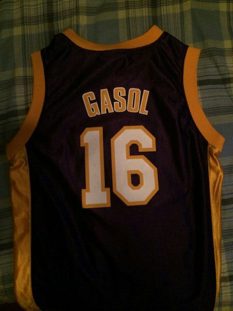 separation shoes af375 674fe Pau Gasol Lakers jersey for Sale in Palmdale, CA - OfferUp