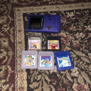 Gameboy color 5 games juegos for Sale in Adelphi, MD