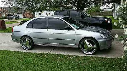 2002 Honda Civic Cold Ac On 20s For Sale In Baytown Tx Offerup