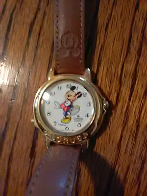 Mickey mouse watch. Needs battery. for Sale in Barryton, MI