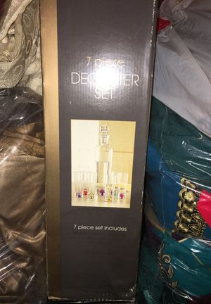 7 piece decanter set for Sale in Falls Church, VA