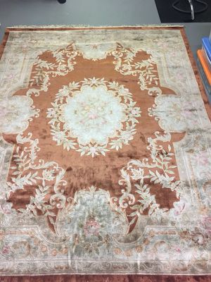 Silk & wool hand knotted 7.5'x9.5' extra dense pile Persian rug for Sale in Potomac, MD