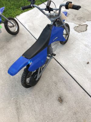 KIDS MOTORCYCLE BLUE (ZR350) 12hr Sale $100 for Sale in Washington, DC