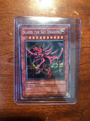 Yugioh Card Slifer the Sky Dragon for Sale in Herndon, VA