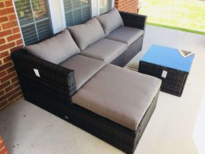 Labor Day big Sale!!!3pc sectional wicker outdoor furniture for Sale in Baltimore, MD