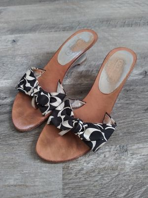 Photo Womens COACH Sandal Heels, Size 6B