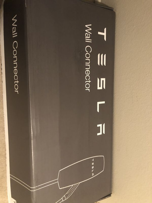 Tesla wall connector, charger for Sale in Beverly Hills, CA - OfferUp