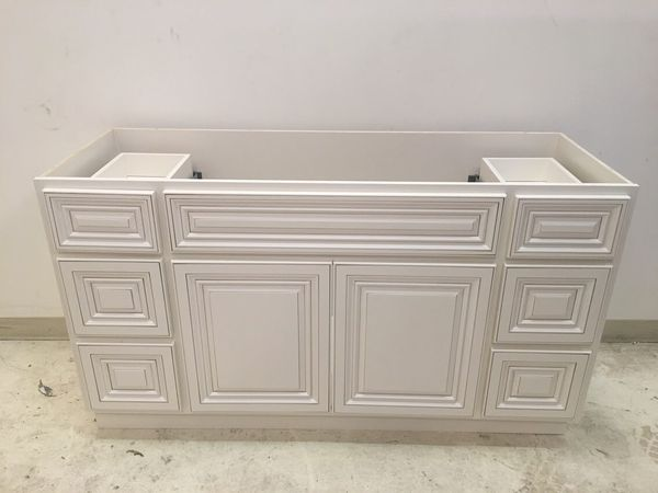 Bathroom Vanity Cabinet 60 All Wood For Sale In Houston Tx Offerup
