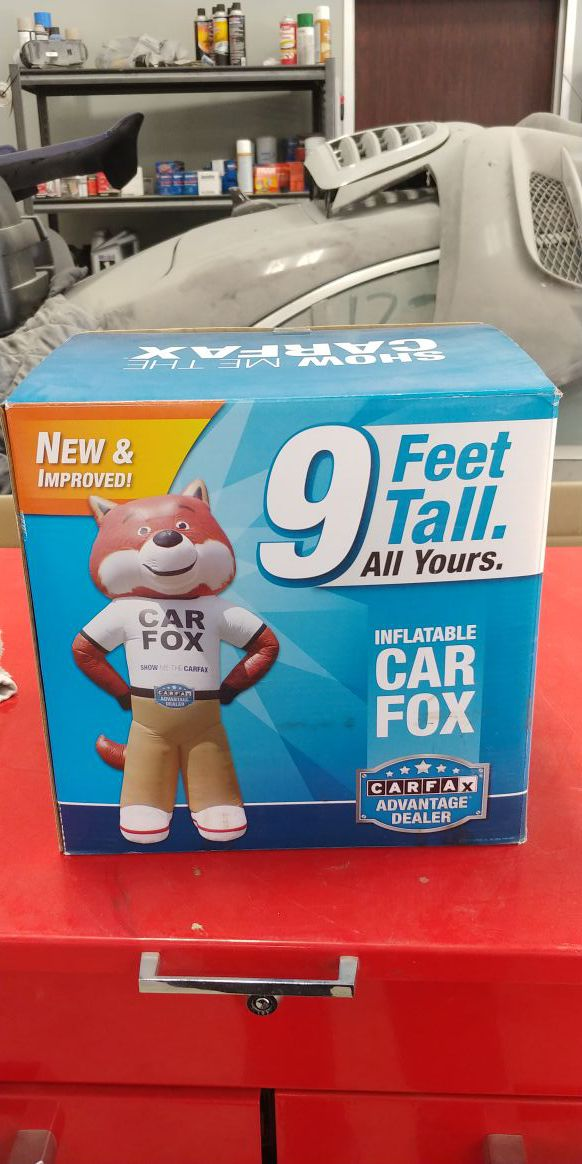 Carfax Fox 9ft Tall Blow Up For Sale In Houston Tx Offerup
