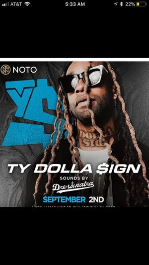 Ty Dolla Sign After Party for Sale in Philadelphia, PA