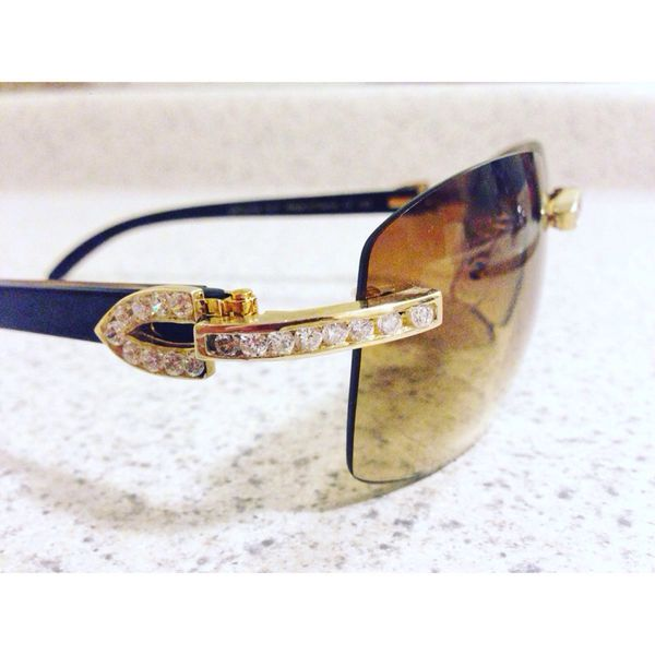 b654eee6080 Fake Iced Out Cartier Glasses - Best Glasses Cnapracticetesting.Com 2018