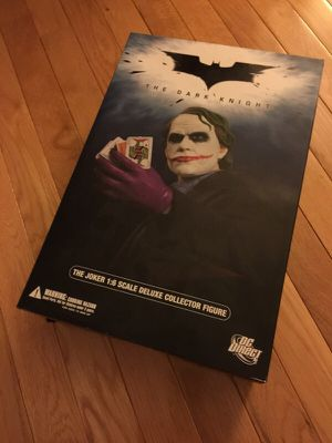 THE Dark Knight Movie 1:6 Scale JOKER HEATH LEDGER Collector Action Figure Doll by DC Direct 13 inch 1/6 - EXTREMELY RARE!! for Sale in Rockville, MD