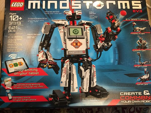 LEGO Mindstorms EV3 31313 Robot Kit with remote control for kids,  Educational STEM toy for programming and learning to code (601 pieces) for  Sale in