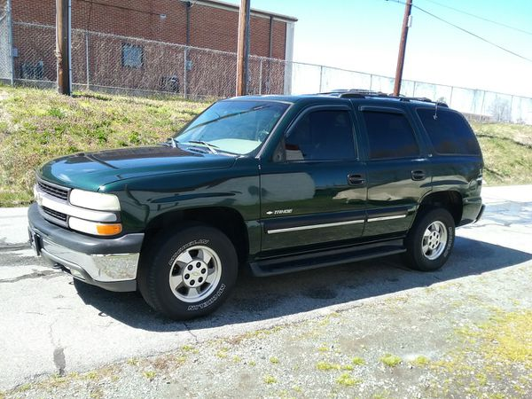 2001 Chevy Tahoe 4wd Ing As A Parts Truck Complete 1500 00