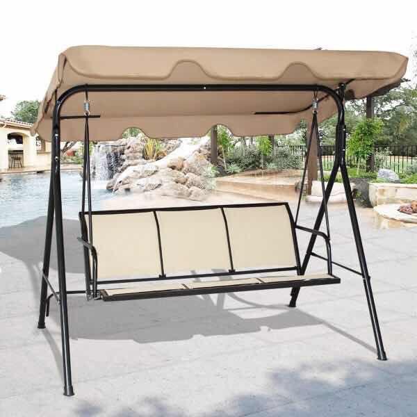 Hookup New Baldwin Park: New In Box 528 Lbs Capacity Swing Outdoor Patio Hanging