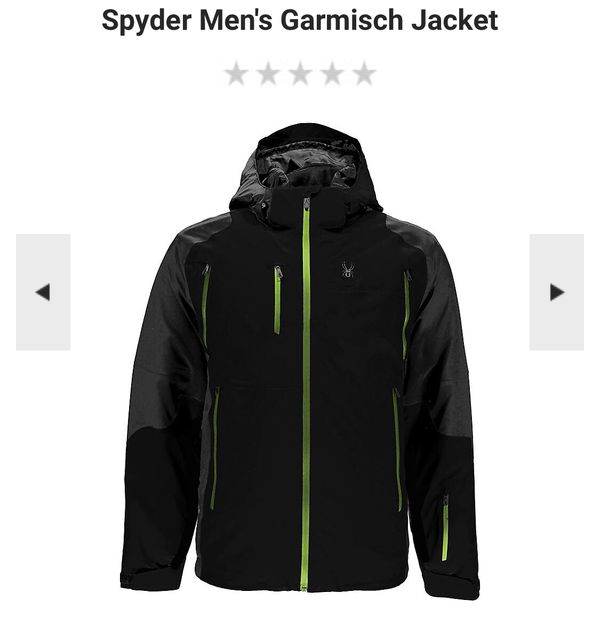 "9c52daa0ec12 Men s ""XL"" spyder Garmisch Ski  snowboard Jacket. ""HIGH END QUALITY ..."