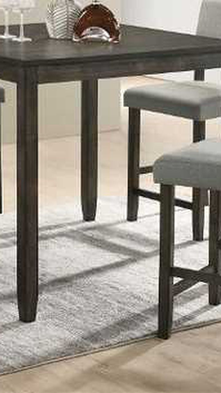 5 Pcs counter height dining table. New in boxes. Price firm 4WJ9