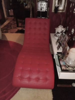Beautiful Red Chaise for Sale in Lincolnia, VA