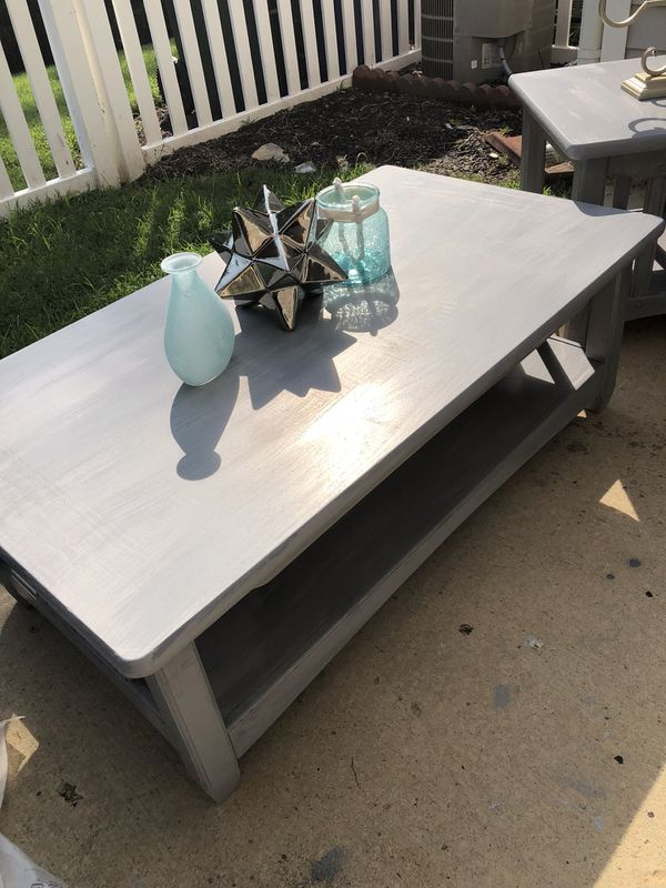 Coffee Table Refinished Solid Wood 200 And 75 Cost 1000 For In Raleigh Nc Offerup