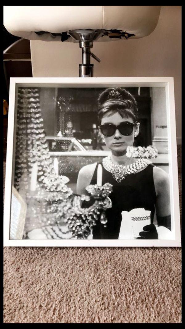 Audrey Hepburn Frame Wall Art (Household) in North Las Vegas, NV ...