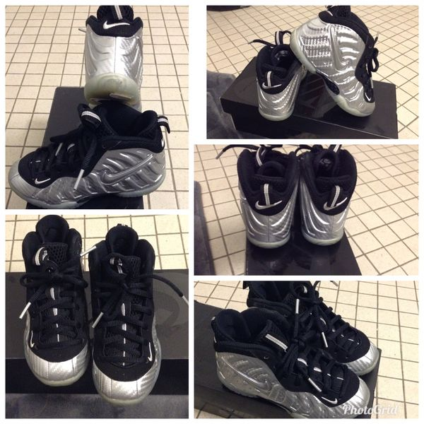 ac13145b767b0 Toddler Nike Foamposite Silver for Sale in Newark