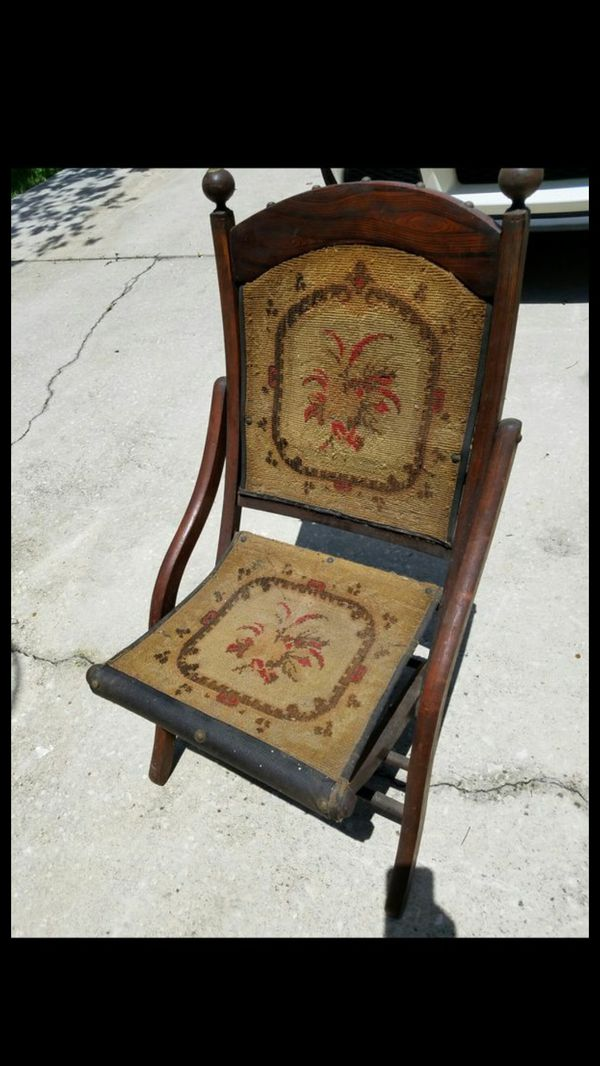 - Antique Folding Chair (Antiques) In Kissimmee, FL - OfferUp