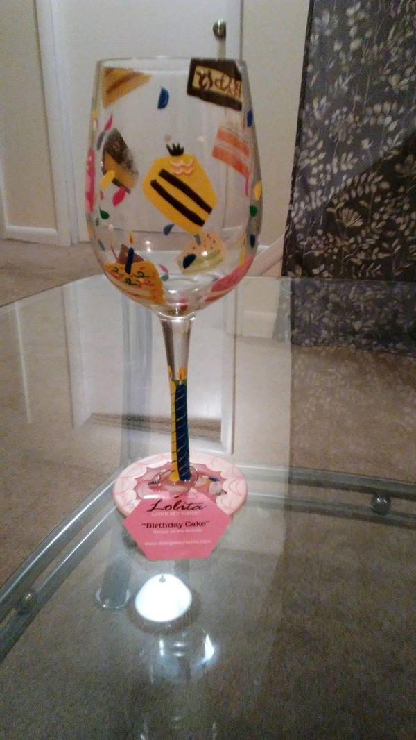 Birthday Wine Glass For Sale In Laurel MD
