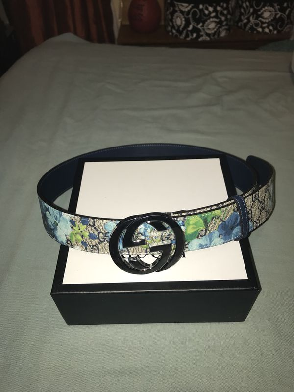 6e84a8d06ca Blue Flower Gucci Belt for Sale in New York