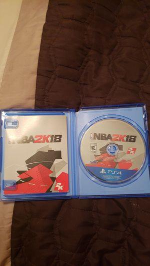 2K18 (PS4) for Sale in Alexandria, VA