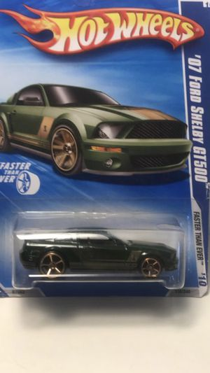 Photo HOT WHEELS 2010 FASTER THAN EVER '07 FORD SHELBY GT500 GREEN #138 FACTORY SEALED