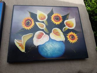 Hand painted frames set of two Thumbnail