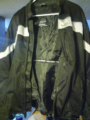 Men's Fulmer Supertrak Jacket Motorcycle Riding Coat Textile/Mesh with CE Armor for Sale in Denver, CO