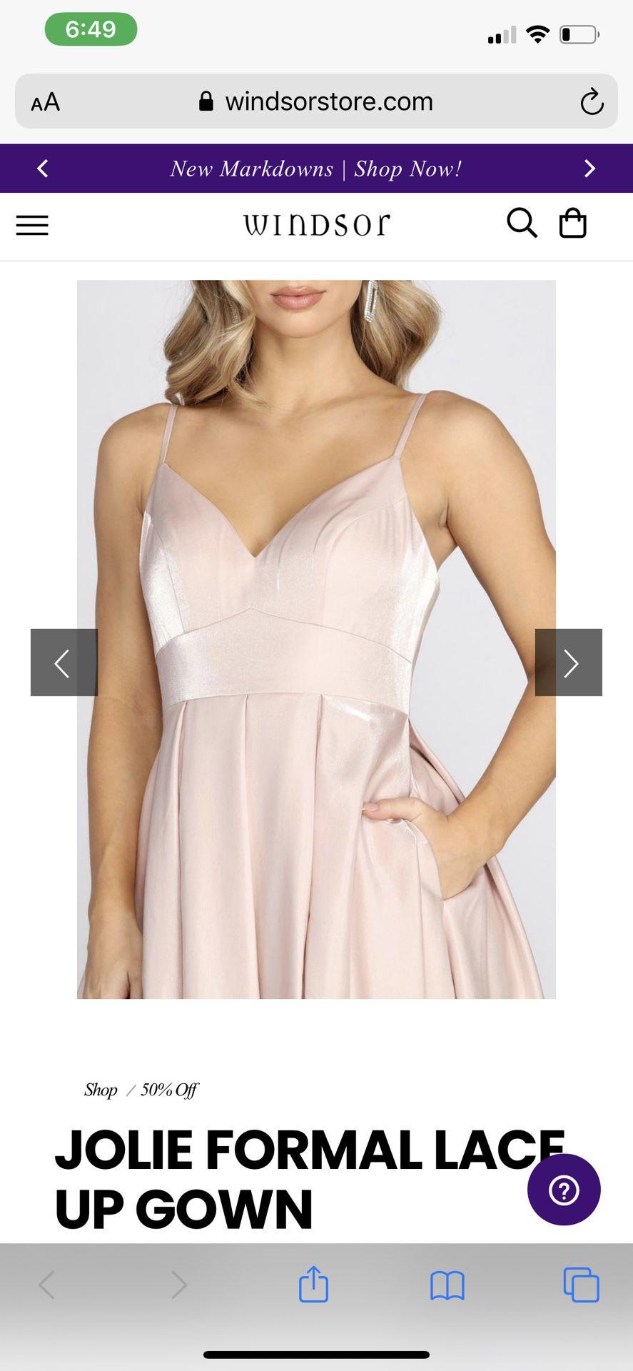Windsor formal dress