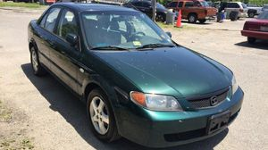 2002 Mazda Protege LX 108 k miles all power 4 cylinfree 34 miles per gallon for Sale in Ruther Glen, VA