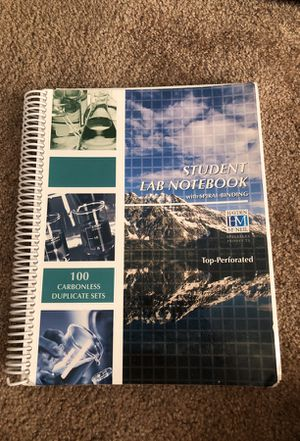 Lab Notebook for Sale in San Diego, CA