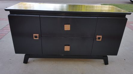 Black Console Cabinet Thumbnail