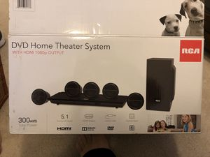 DVD player with home theater system for Sale in Sully Station, VA