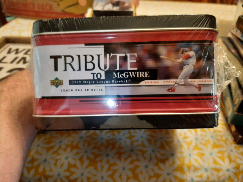 Upper Deck Lunch Box Tributes Mark McGwire