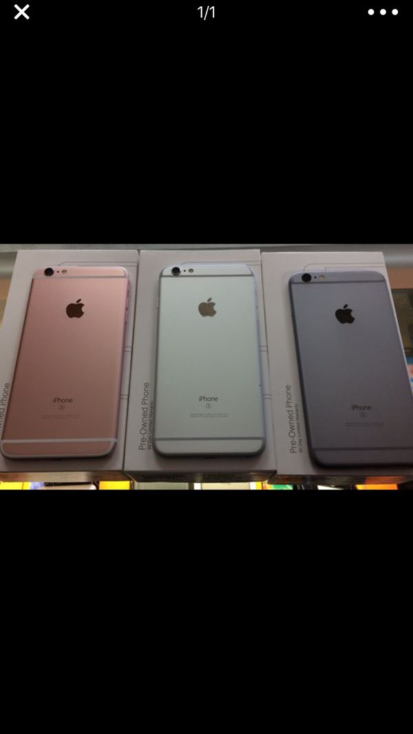 iPhone 6s 16gb pre owned (90 day warranty through boost)for