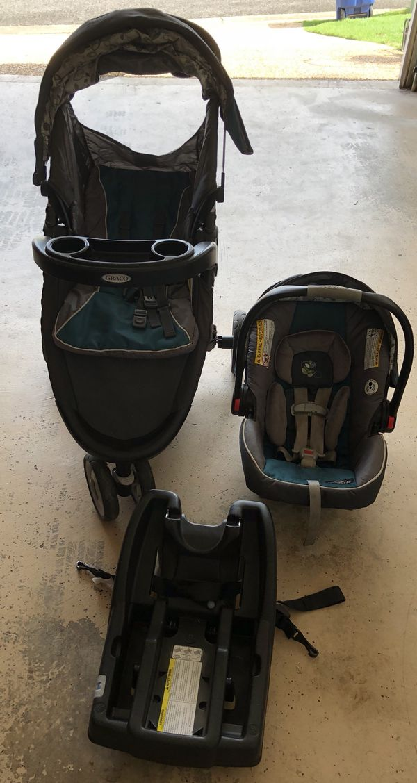 9f19b2fccdc9   OBO   Graco Fastaction Fold Click Connect Snugride 35 Travel System Model  1911739