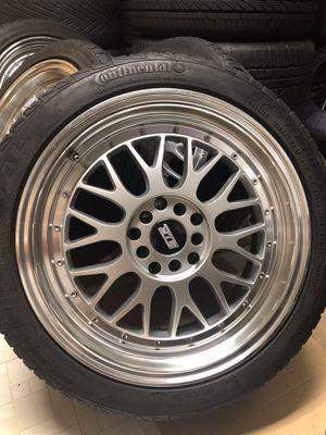 "17"" STR Wheels 5x114.3 5x100 Honda Civic Toyota Corolla for Sale in Silver Spring, MD"