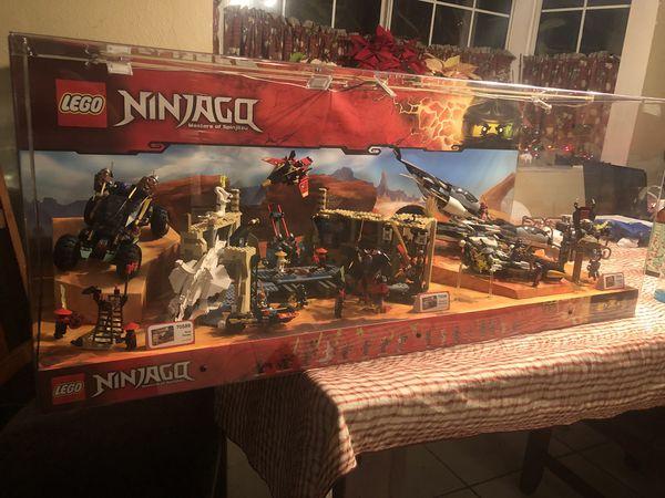 Legos Ninjago Masters Of Spinjitsu Toys R Us Display Case For Sale