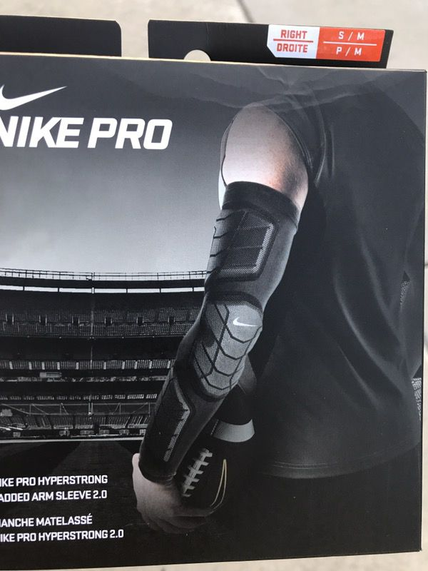 b6d78a97 Nike pro Hyperstrong padded arm sleeve for Sale in Rancho Cucamonga, CA -  OfferUp