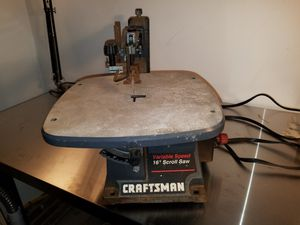 "Craftsman 16"" variable speed scroll saw for Sale in Apex, NC"