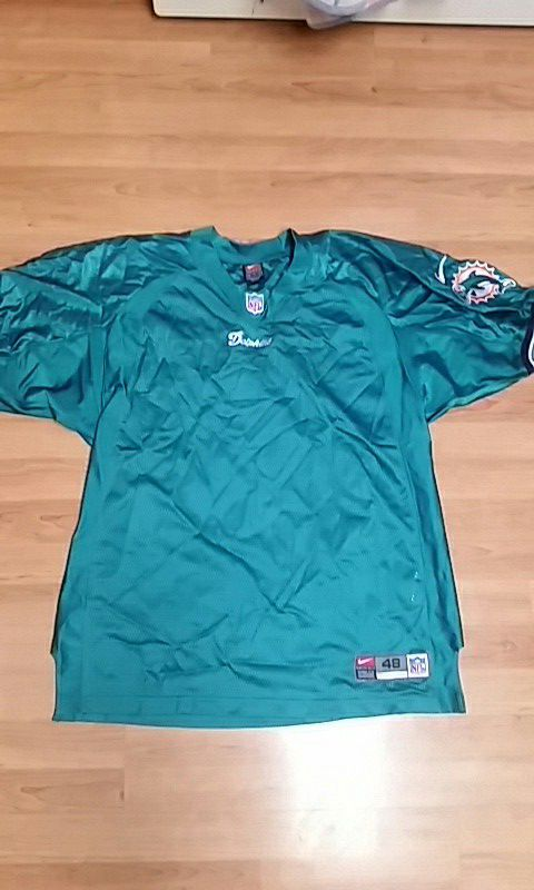 blank dolphins jersey