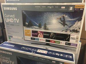 "Samsung UN55MU6490 55"" 4K UHD HDR LED Smart TV 2160p (FREE DELIVERY) for Sale in Renton, WA"