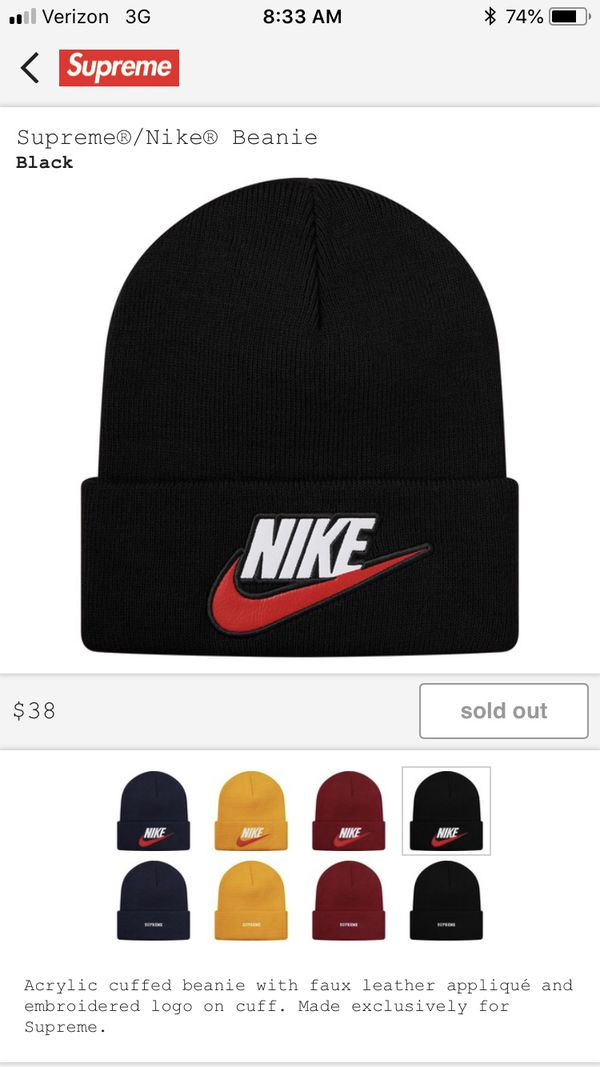 fe6e9ee1db72c New and Used Supreme beanie for Sale in Litchfield Park